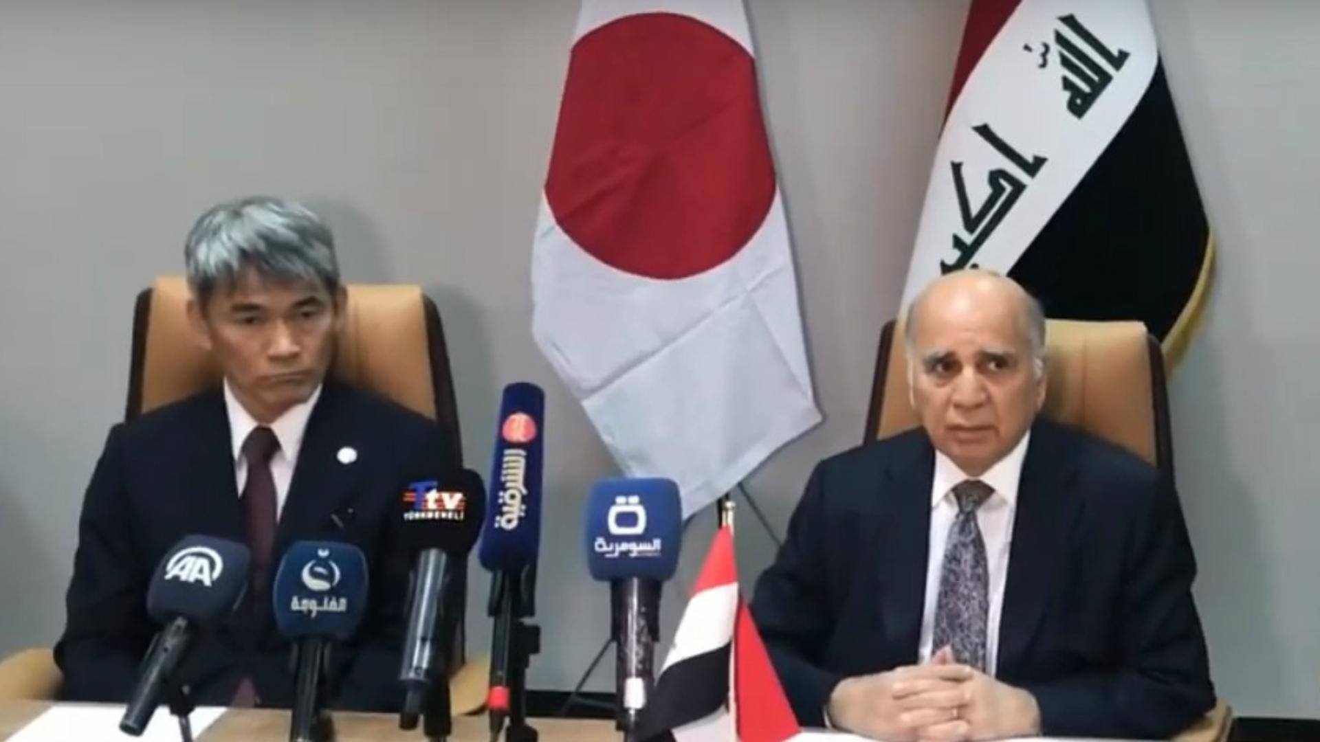 وزير المالية يوقع على قرض ياباني للعراق بقيمة مليار دولار