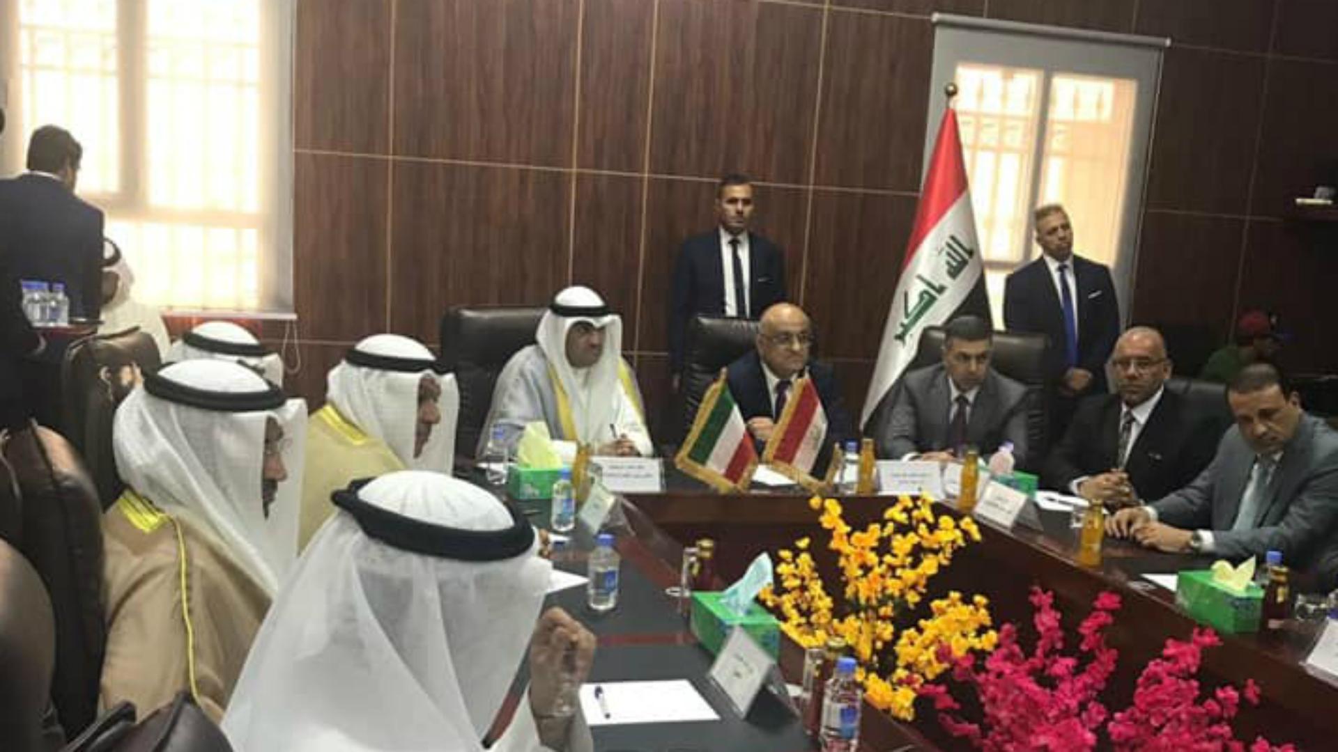وزيرا التجارة العراقي والكويتي يتفقان على تعزيز التبادل التجاري