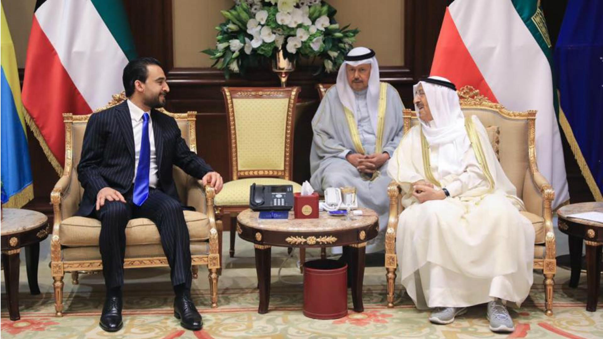 أمير الكويت يؤكد التزامه بمقررات مؤتمر المانحين