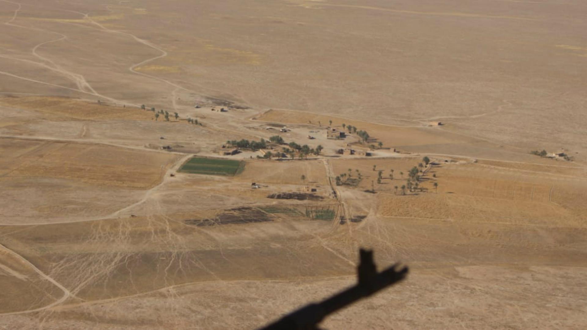 قوات الأمن وطائرات التحالف تستهدف إرهابيين في صلاح الدين وتقتل 8 منهم