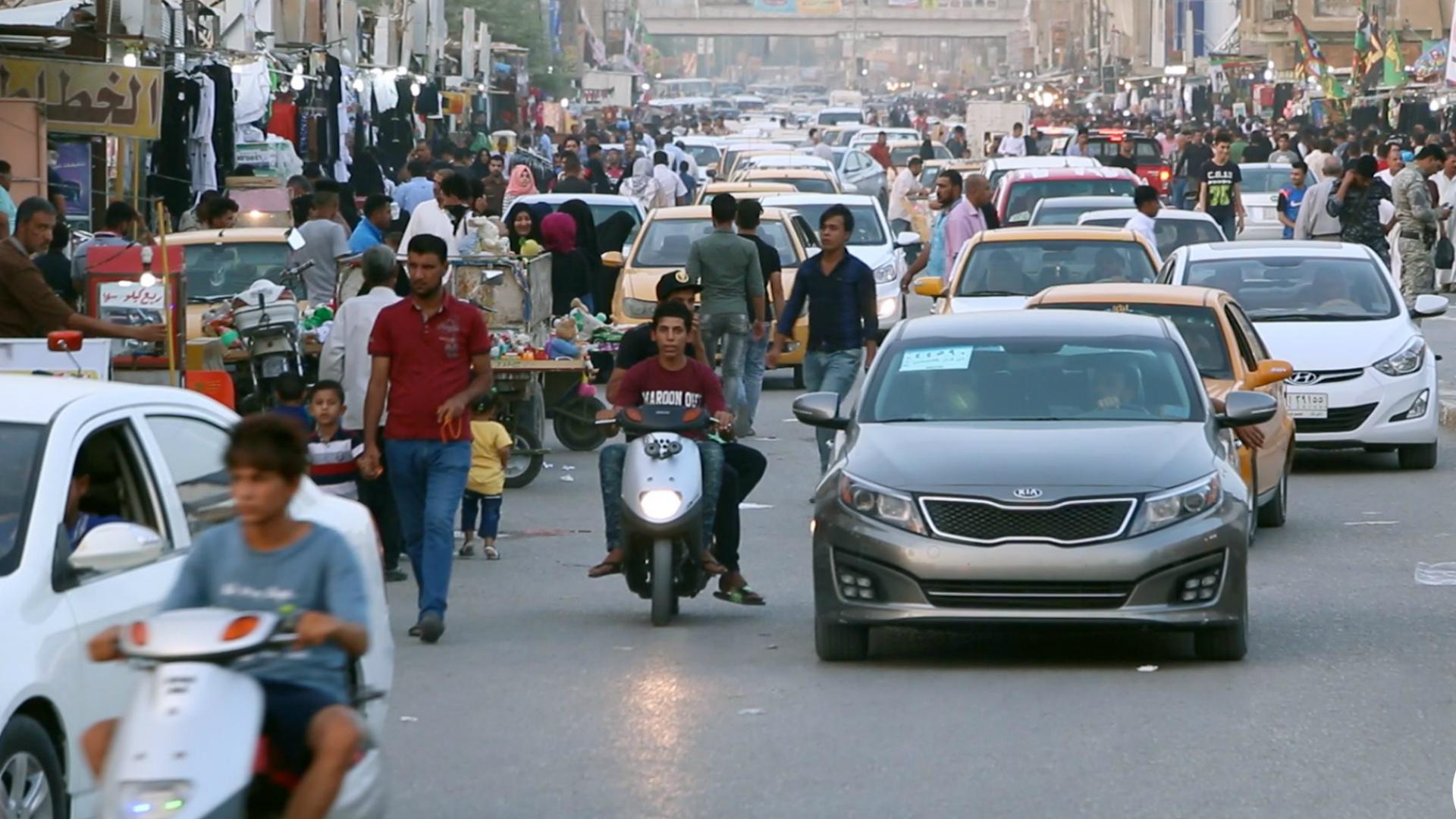 عدد سكان العراق يتجاوز 38 مليون نسمة ونصفهم تقريباً دون 15 سنة