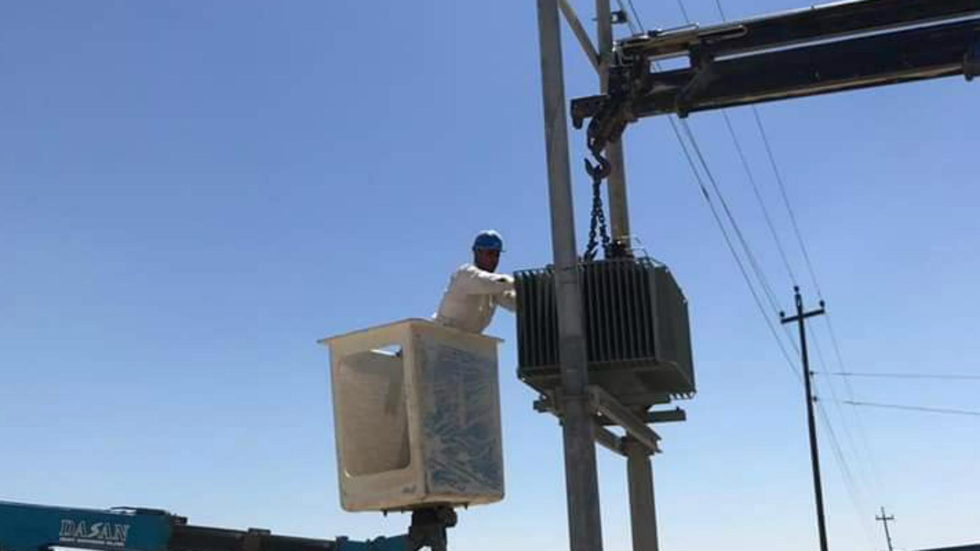 دائرة توزيع كهرباء المثنى تعلن إنجاز عشرات المشاريع في المحافظة