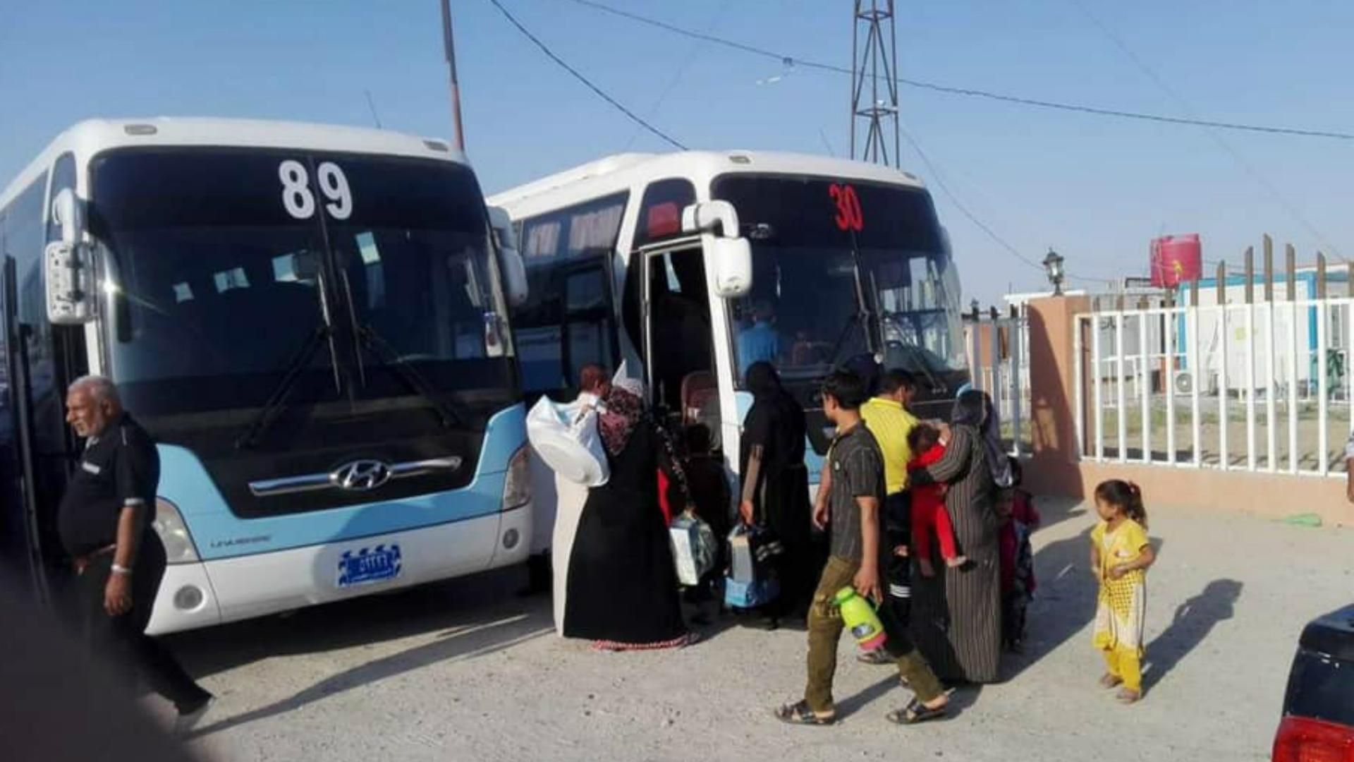 الهجرة تعلن عودة 285 نازح إلى مناطقهم في القائم