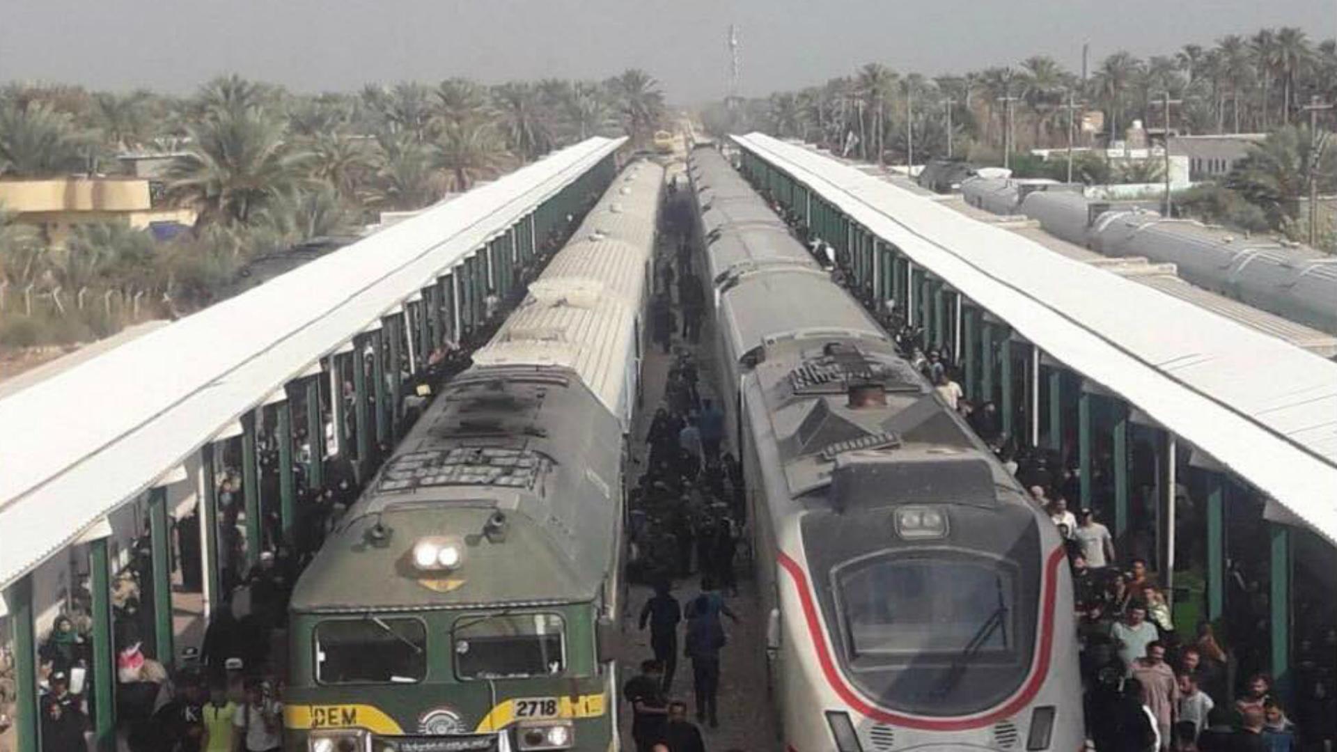 البدء بمد خط سكة حديد مزدوجة بين بغداد والبصرة