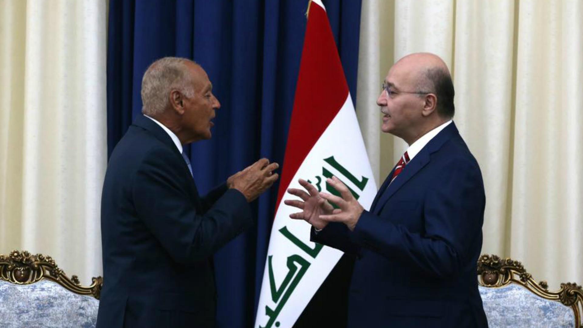 صالح: موقف العراق يعضّد جهود تخفيف التوتر في المنطقة