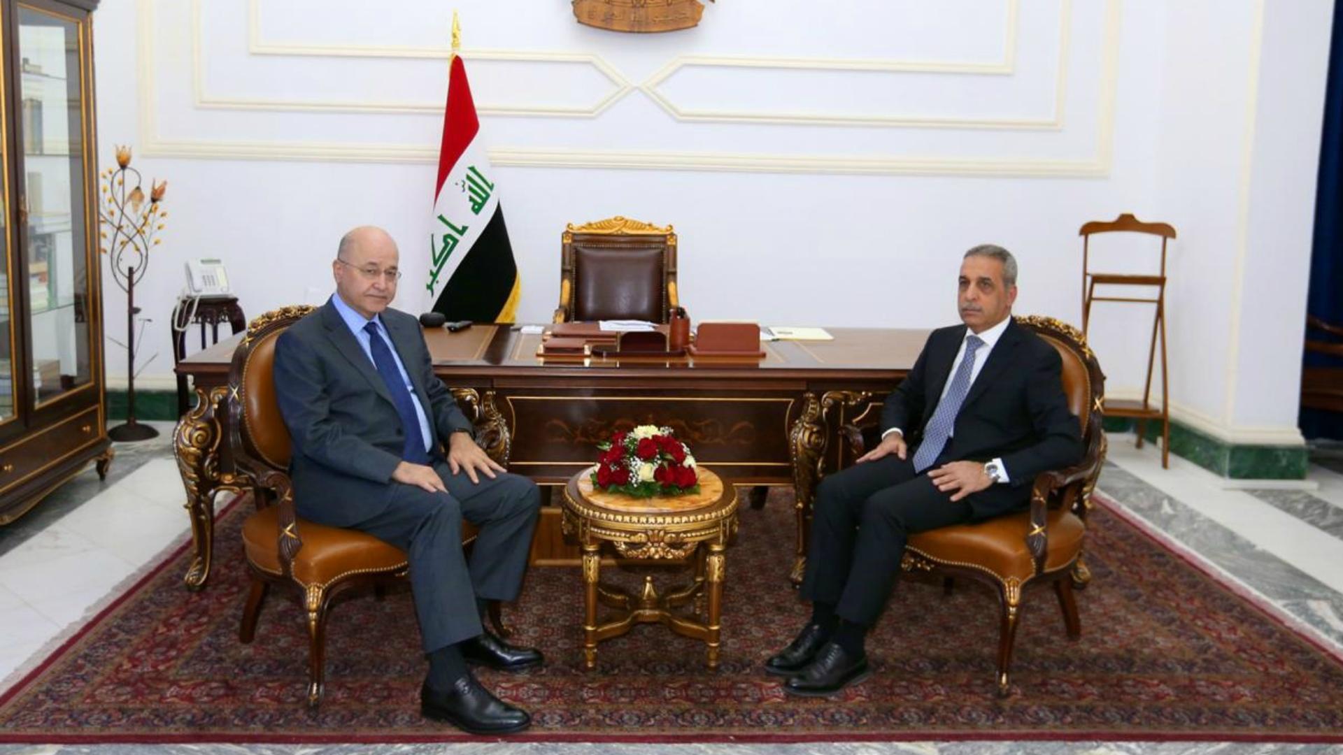 الرئيس صالح يؤكد ضرورة محاسبة المسؤولين عن إراقة الدم العراقي