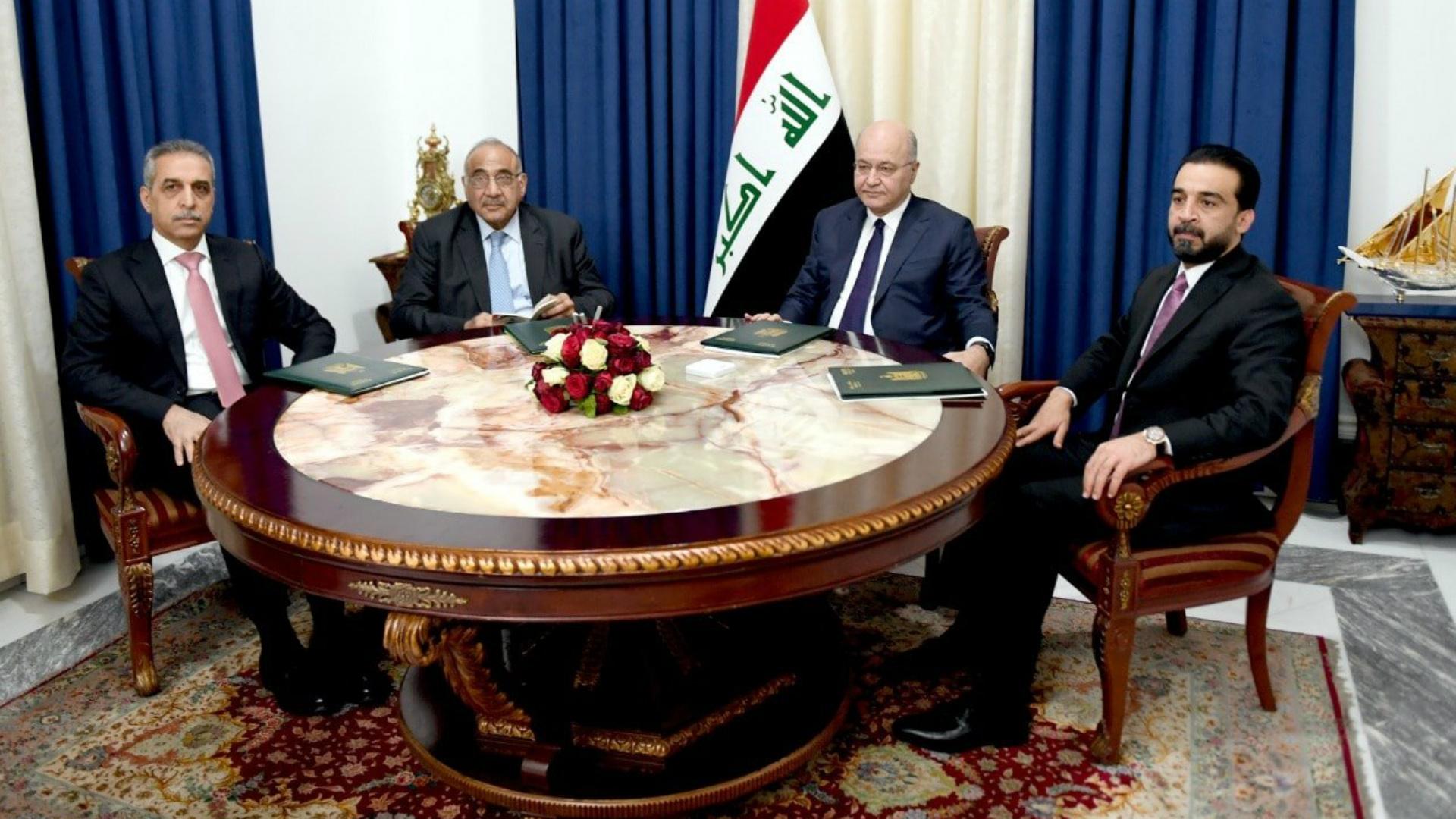 الرئاسات الثلاث تدعو إلى حماية المتظاهرين