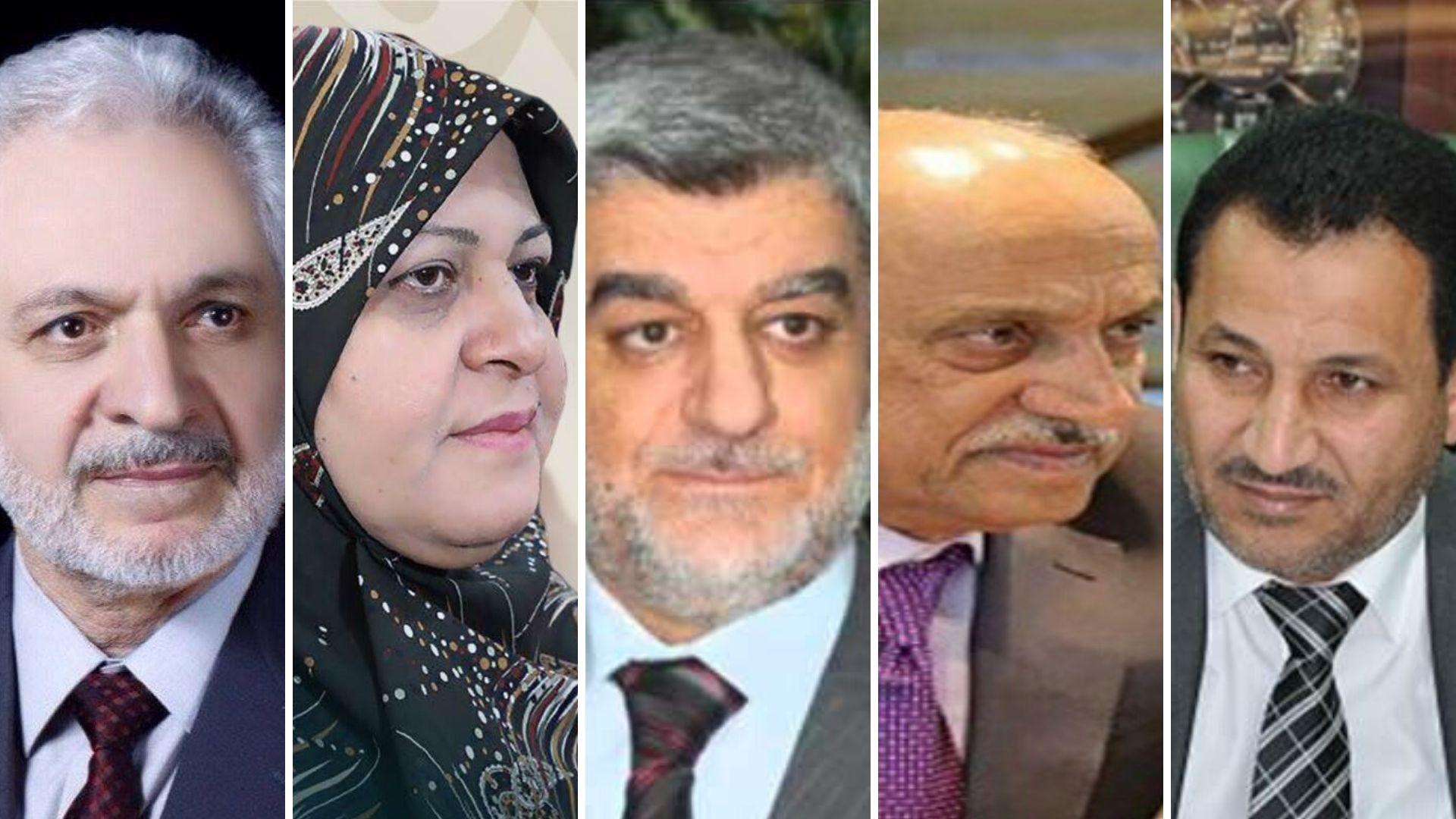 صدور أوامر استقدام بحق خمسة وزراء سابقين