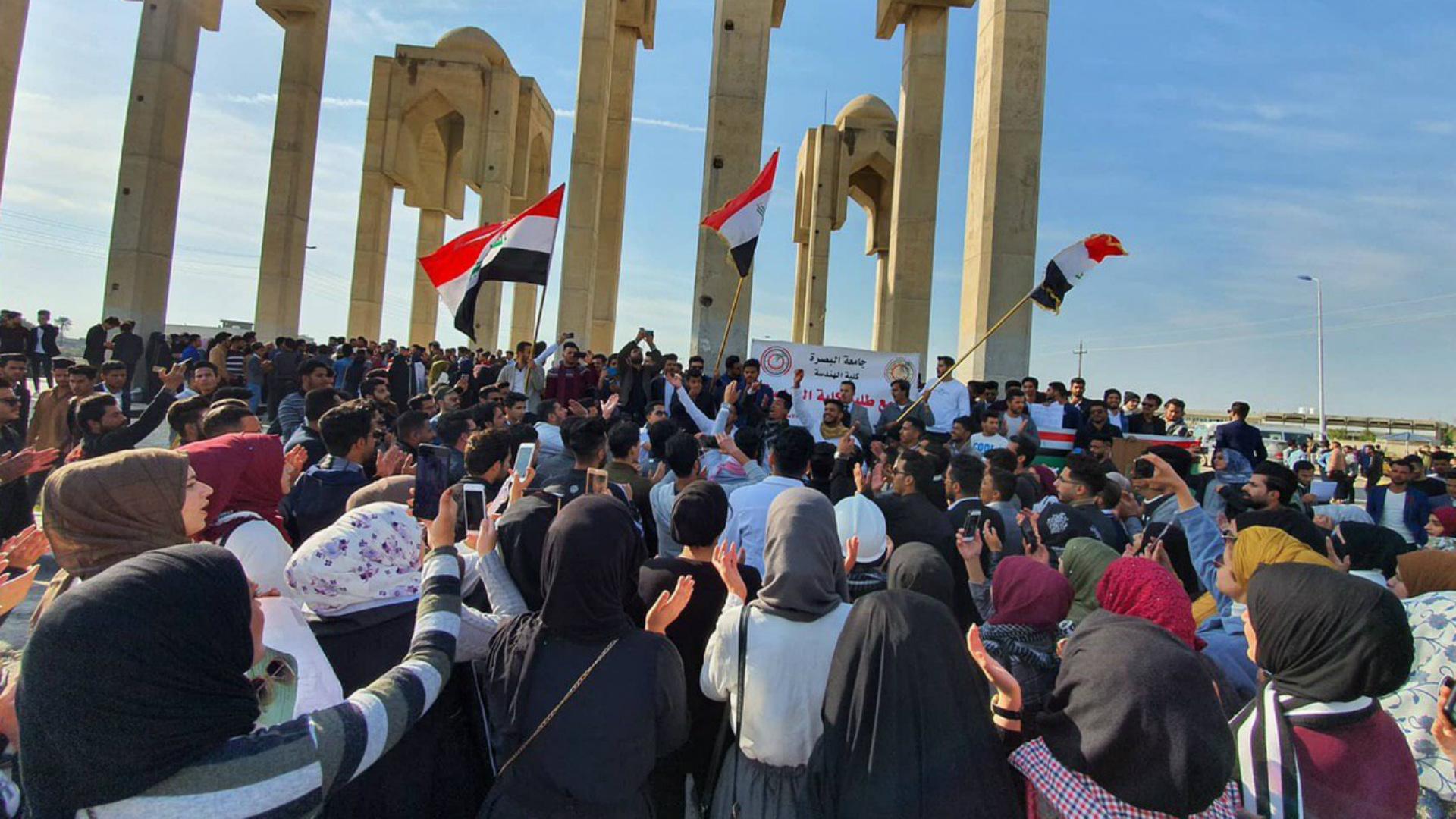 تظاهرات طلابية حاشدة لرفض المماطلة