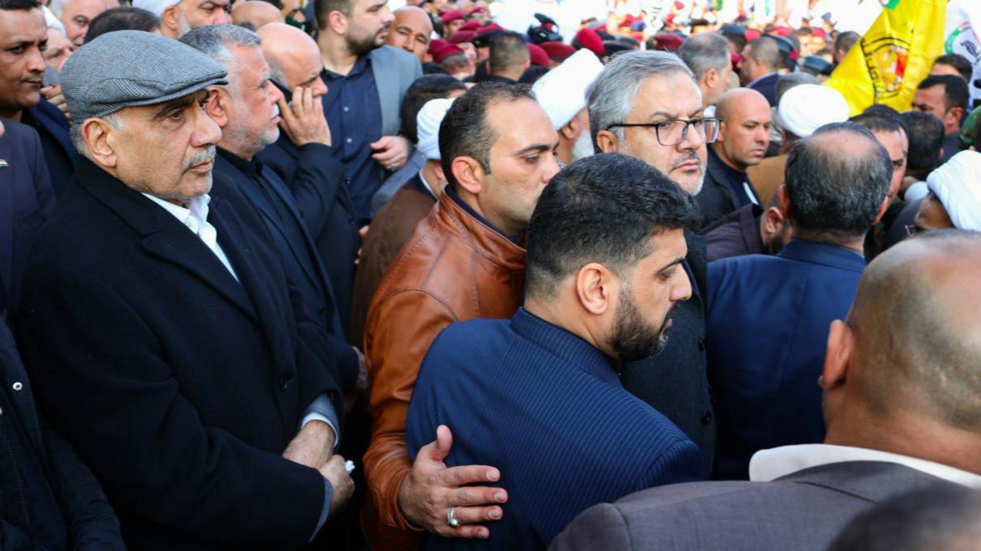إقامة تشييع رسمي لقادة الحشد في بغداد