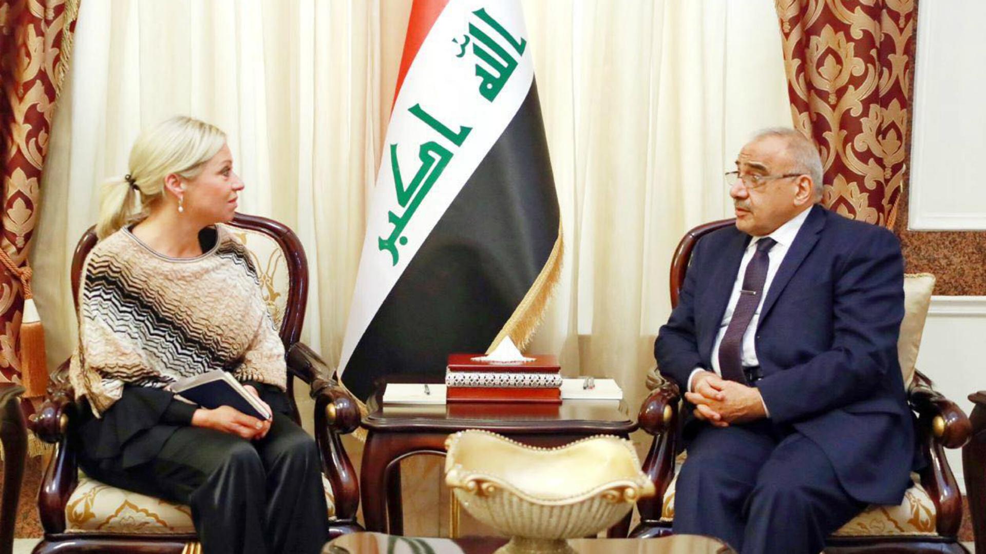 رئيس الوزراء يؤكد حرص العراق على استمرار علاقاته مع المجتمع الدولي