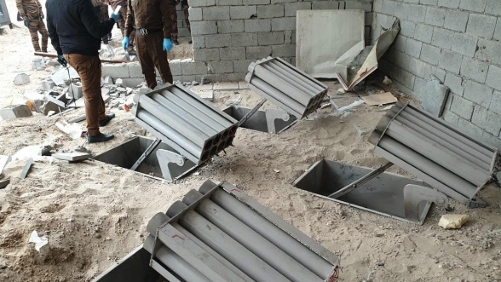 سقوط 33 صاروخ كاتيوشا في قاعدة التاجي العسكرية