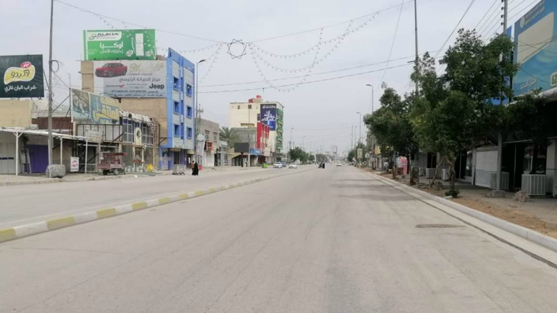 تمديد حظر التجوال في نينوى والأنبار