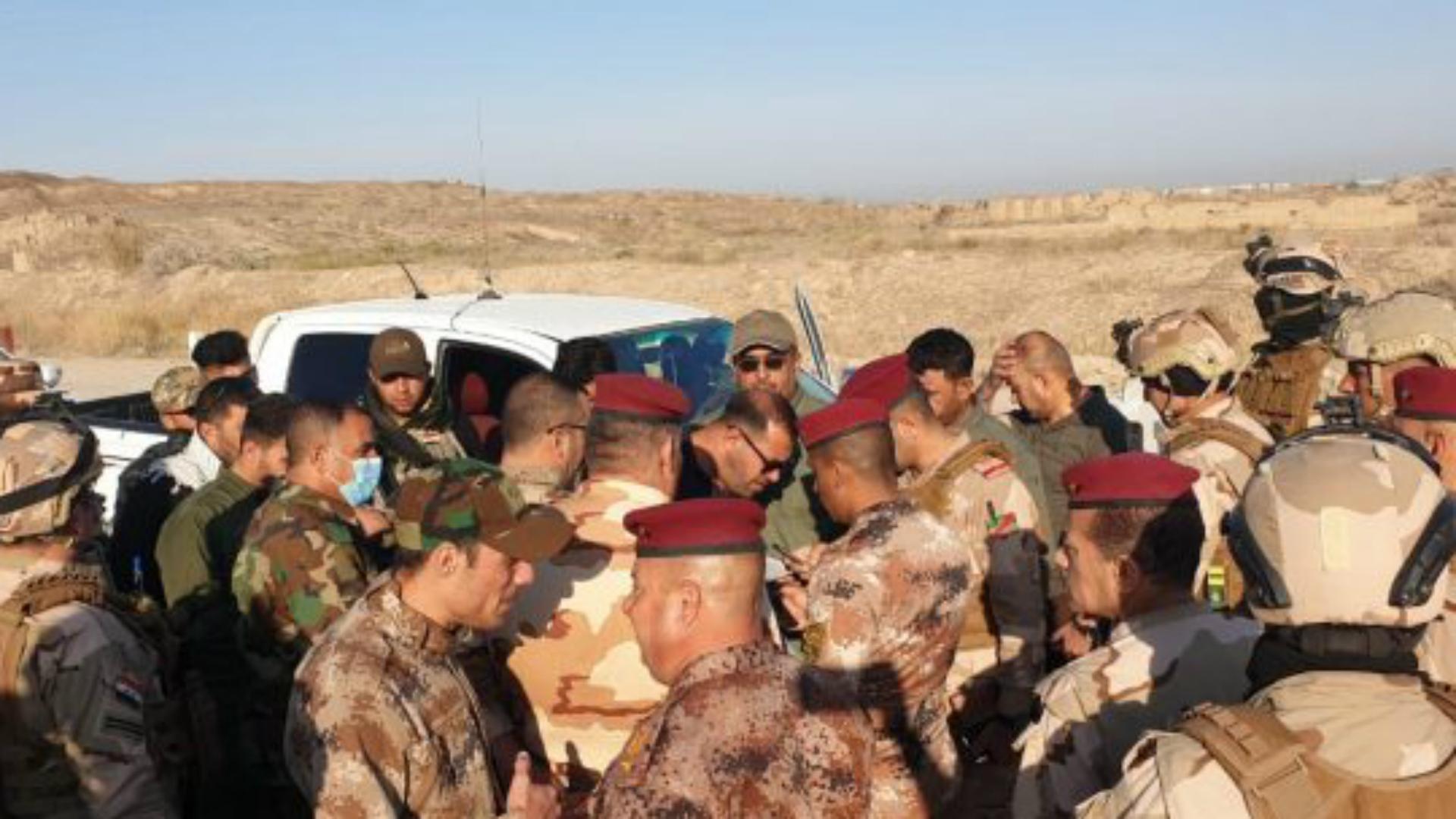 تنفيذ عملية أمنية للجيش والحشد في صحراء الأنبار