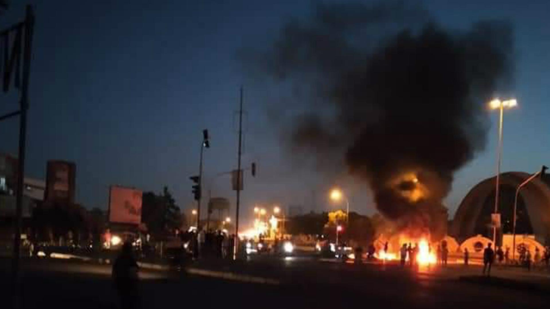 مقتل منتسب أمني في أحداث الناصرية