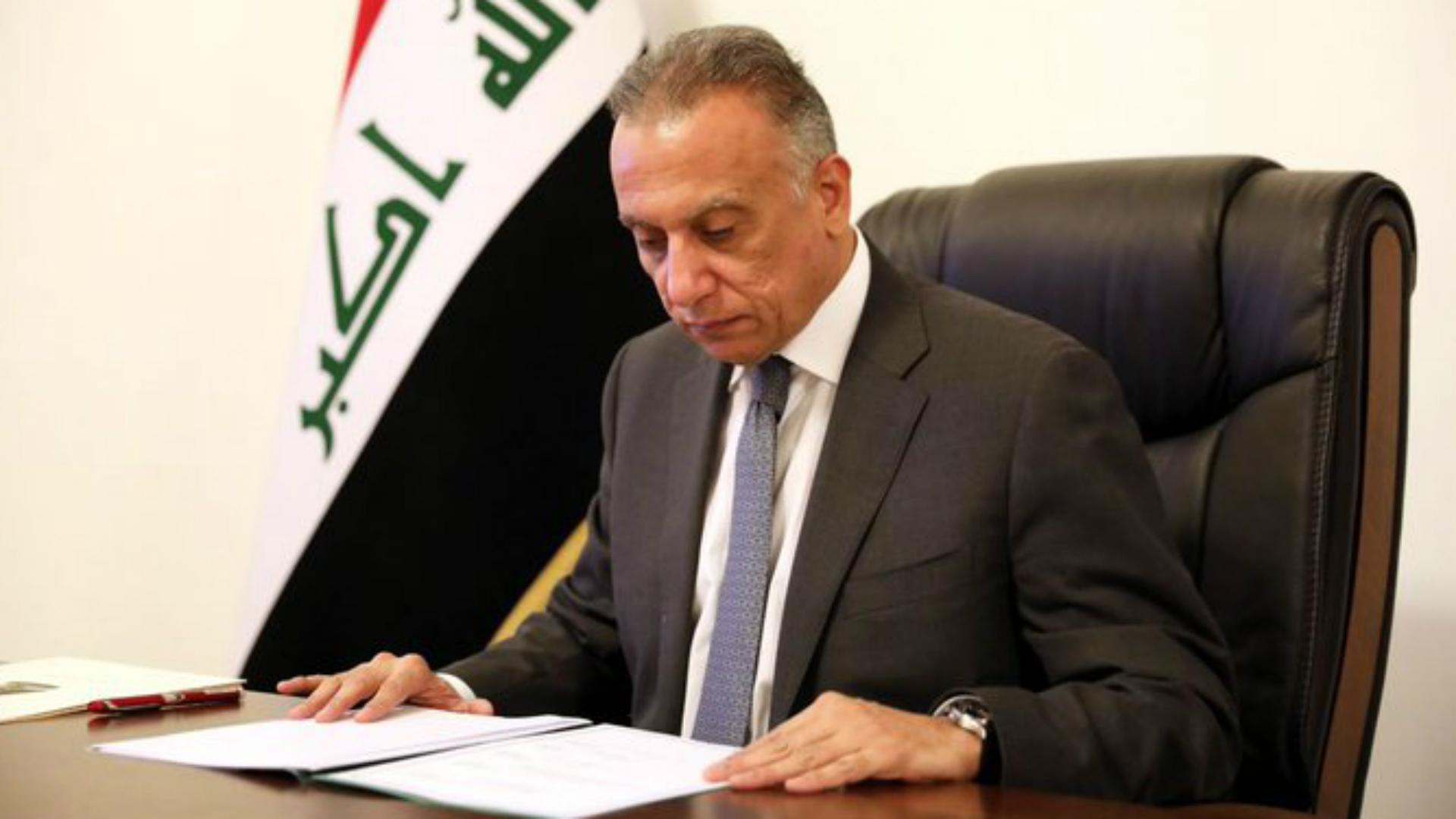 الكاظمي يقدم تعازيه بعد استهداف الحشد الشعبي