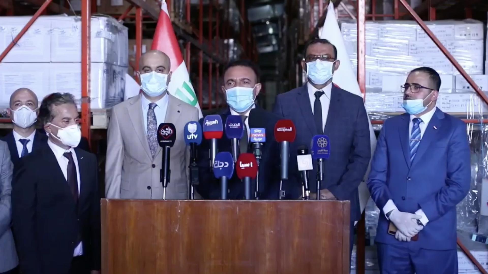 الصحة تزود بغداد والمحافظات بأجهزة فحص كورونا