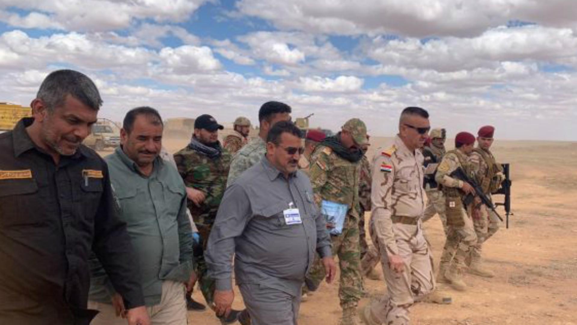 إطلاق عملية أسود الصحراء العسكرية في الأنبار