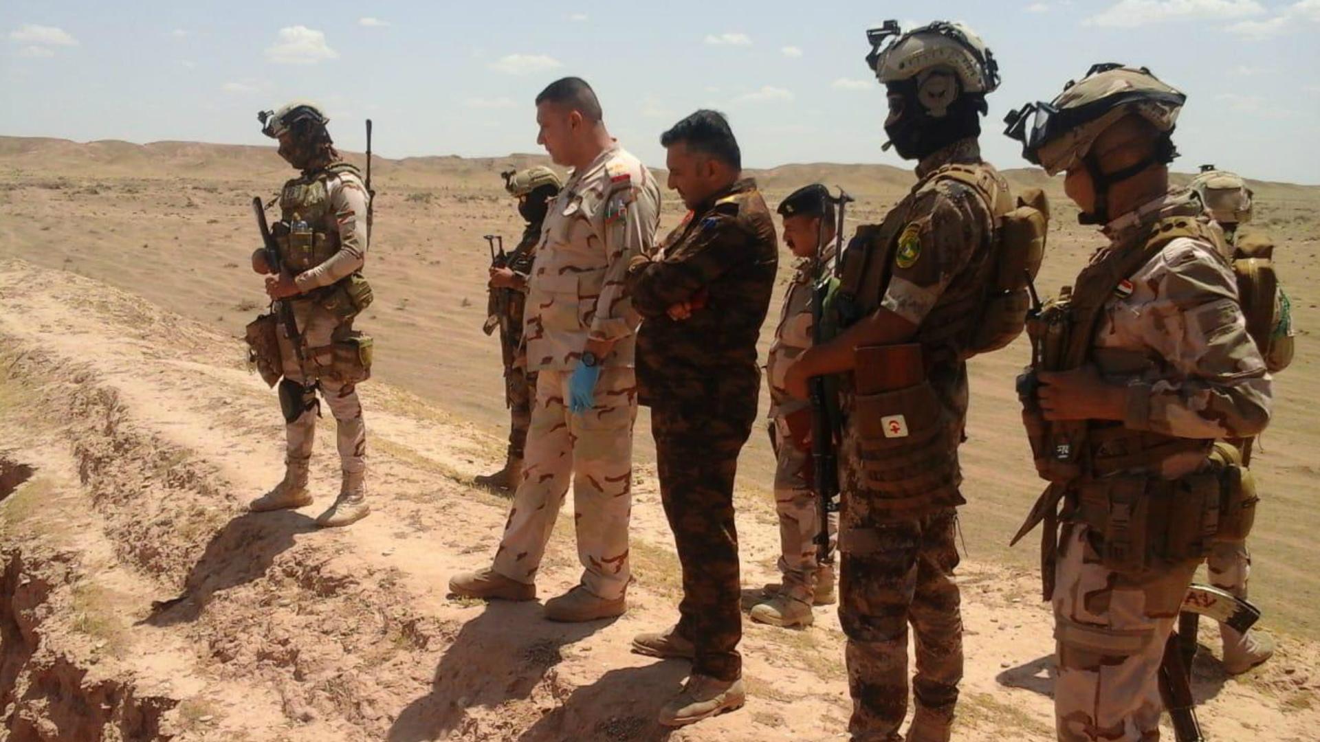 انطلاق المرحلة الثالثة من عمليات أبطال العراق