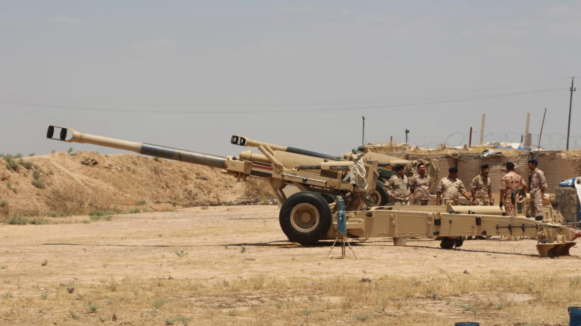 عملية أبطال العراق تواصل ملاحقة فلول داعش