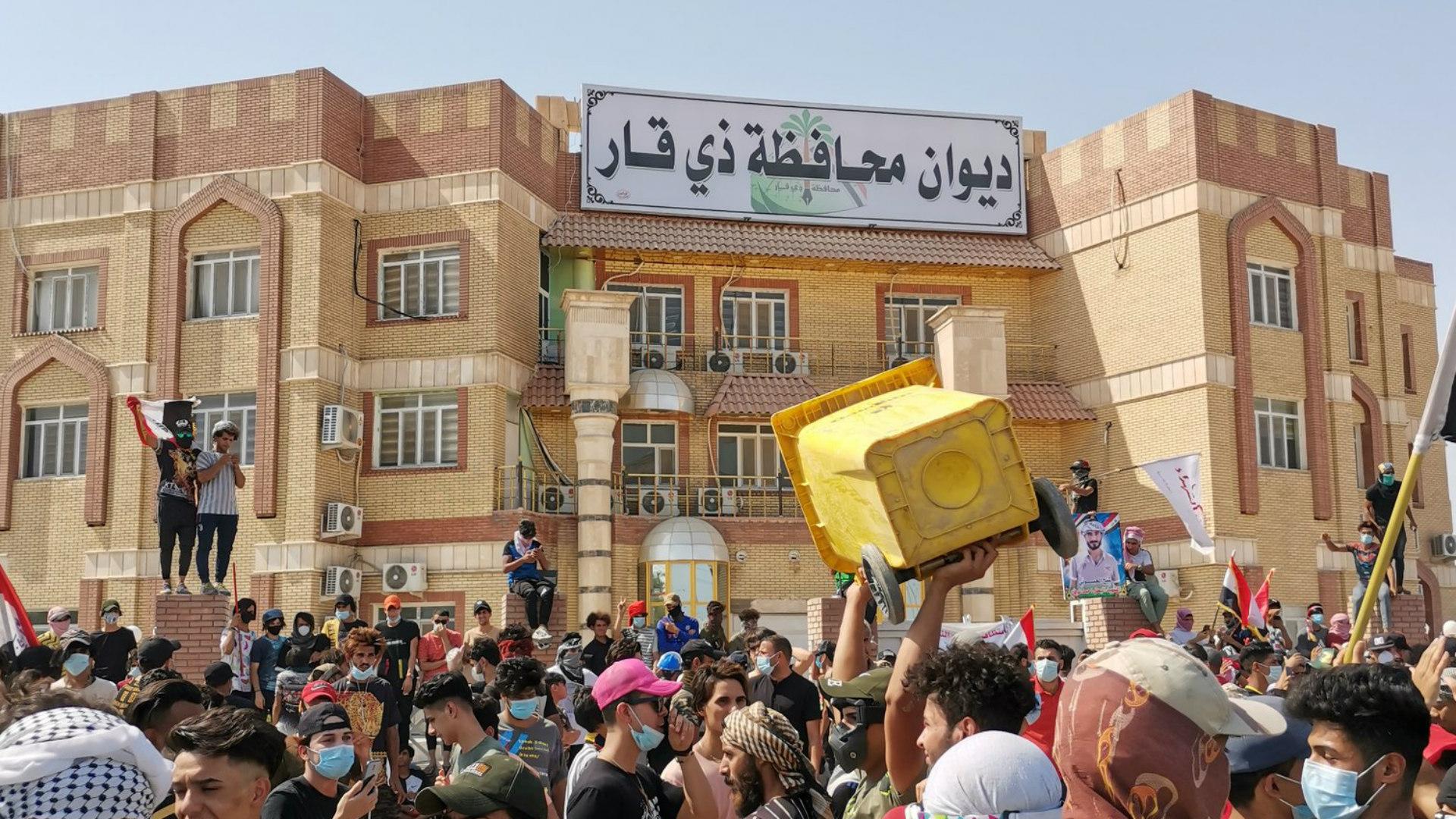 محكمة استئناف ذي قار: جميع المتظاهرين السلميين المقبوض عليهم قد تم إخلاء سبيلهم