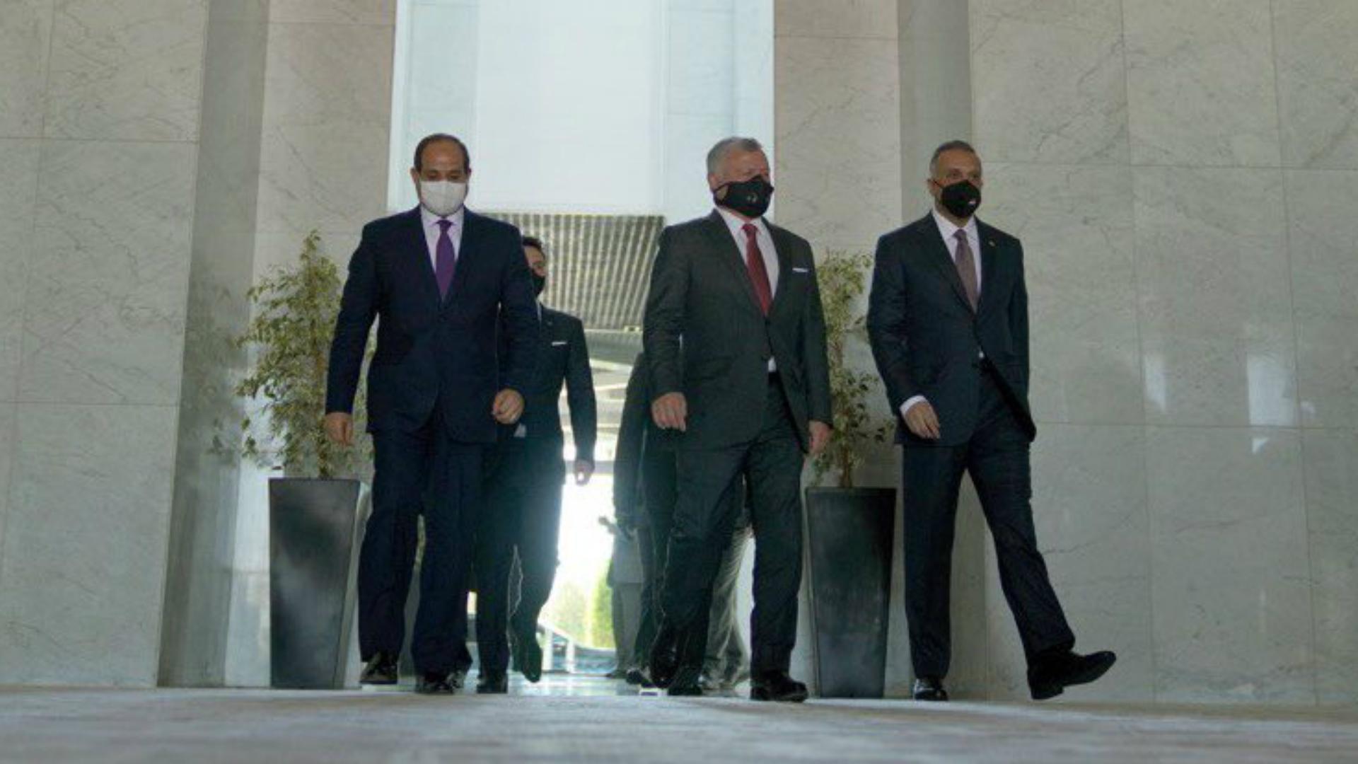 الكاظمي يحضر قمة مع الرئيس المصري والملك الأردني
