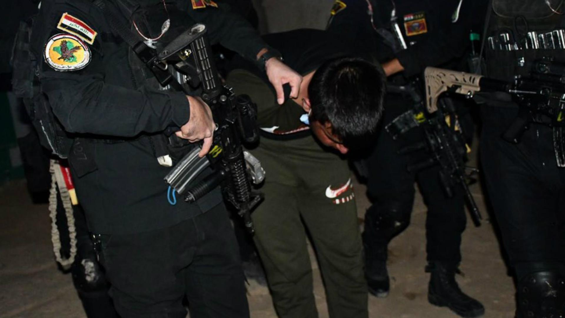 إلقاء القبض على إرهابيين في كركوك وصلاح الدين