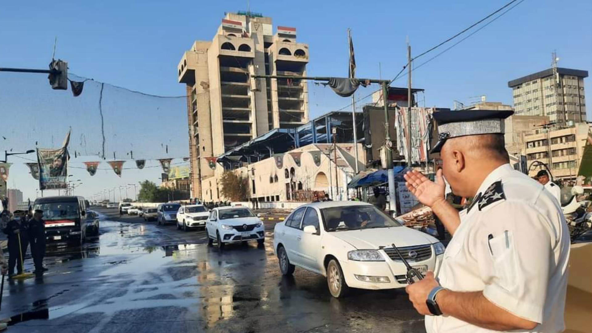 رفع عدد من السيطرات في بغداد