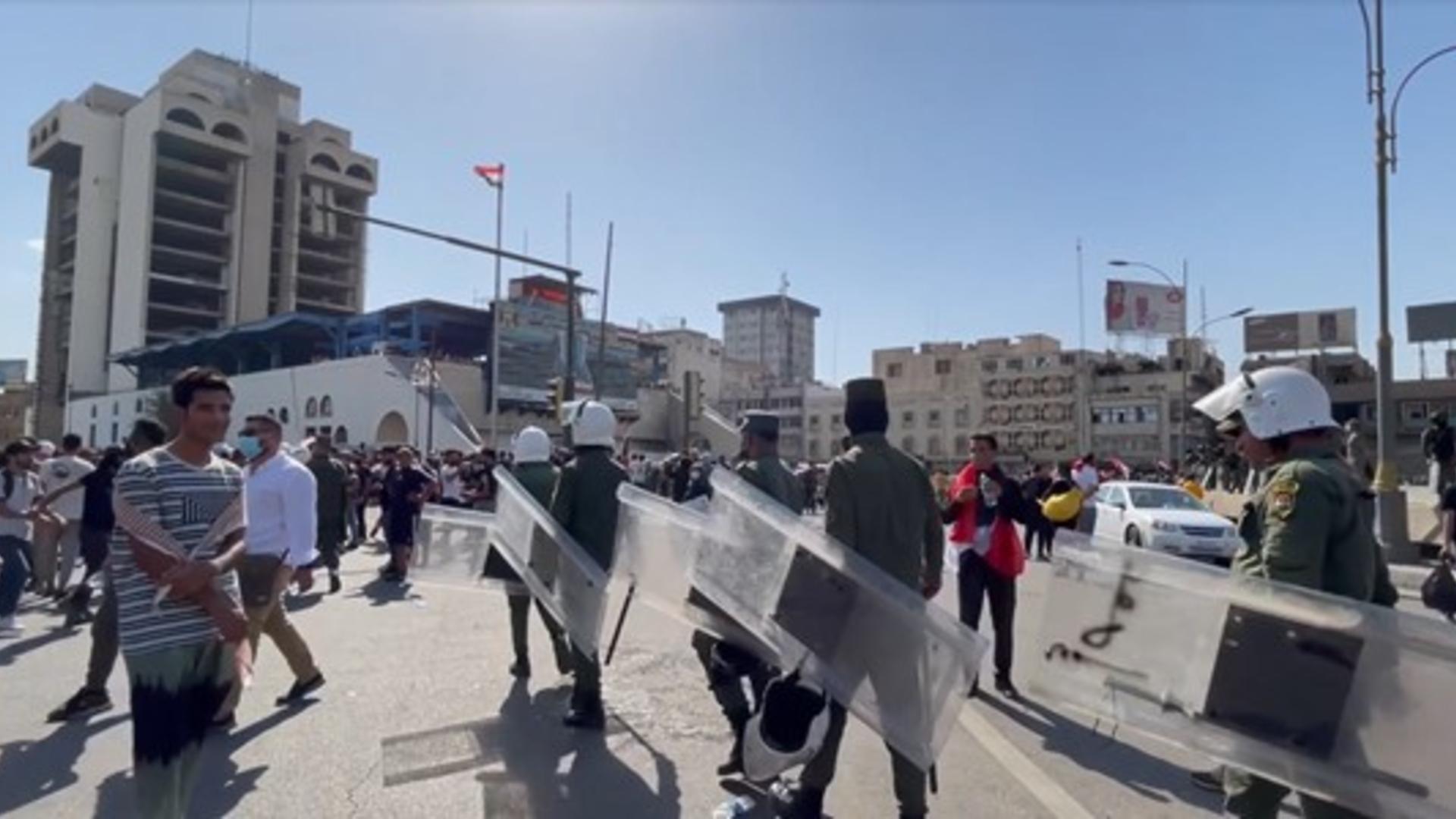حقوق الإنسان تعلن حصيلة أحداث التحرير