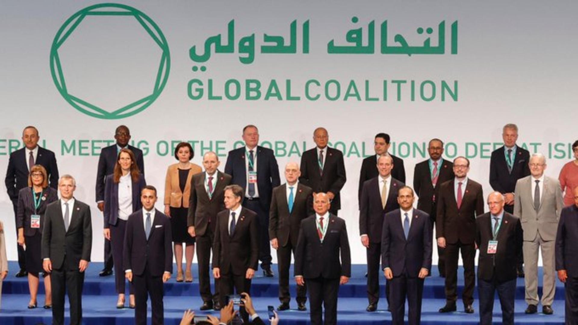 وزير الخارجية يشارك باجتماع التحالف الدولي في روما