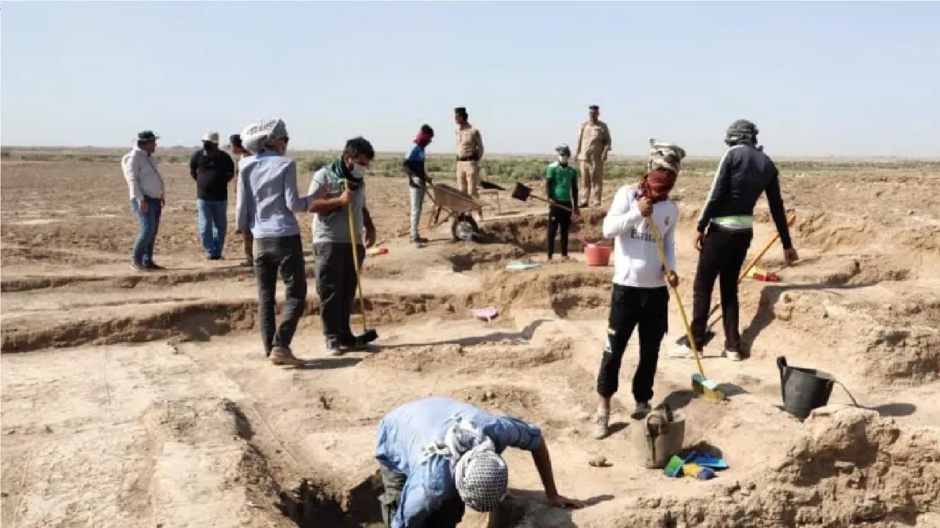 اكتشاف أكثر من 500 قطعة أثرية للعصر البابلي الحديث غربي الكوت