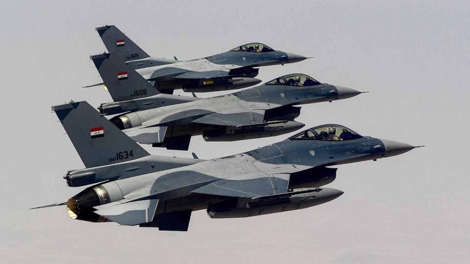 القوة الجوية تدمر أوكاراً لداعش في ديالى